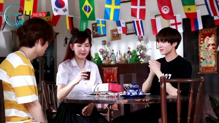 """""""ฮวียอง"""" และ """"ชานิ"""" วง SF9 ลัดฟ้าร่วมแจมซิตคอมไทย """"สภากาแฟ 4.0"""""""