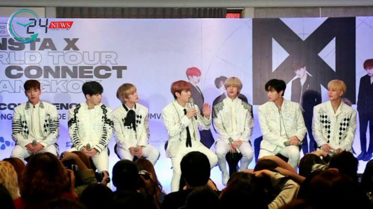 """7 หนุ่ม Monsta X ฝากบอกมอนเบเบ้ไทย ว่า """"ผมหึงนะ…อย่านอกใจ! """""""