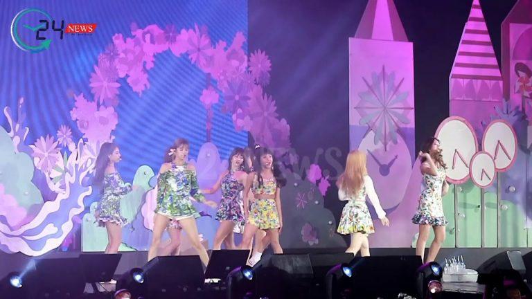 เก้าสาว TWICE ปล่อยพลังท็อปฟอร์ม! ร้องเต้นเอ็นเตอร์เทนสามชั่วโมงเต็ม  สมเป็นสุดยอดเกิร์ลกรุ๊ปเกาหลีแห่งยุค สมเป็นงานดีโปรดักชั่นอลังจากโฟร์วันวันฯ